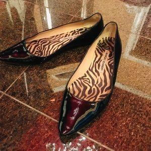 🔥EUC Manolo Bs patent leather flats